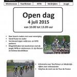Open dag Wielersportvereniging ETP Zutphen 4 juli 2015