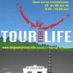 Sponsorrit voorbereiding op Tour for Life 2018